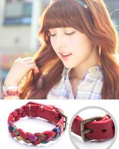 Genuine Leather Braided Bracelet