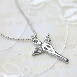 Silver Littlee Angel Necklace