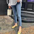 Light Washed Skinny Jeans