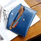 Faux-leather Pencil Pouch