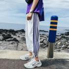 Side-stripe Harem Pants