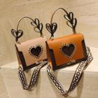 Heart Cutout Crossbody Bag