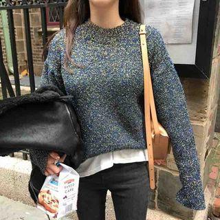 M Lange Mock-neck Sweater