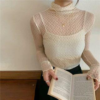 Set: Lace Top + Camisole Top