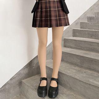 Fleece-lined Double-layered Stockings
