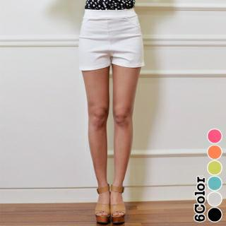 Band-waist Shorts
