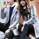 Couple Matching Furry Hooded Padded Coat