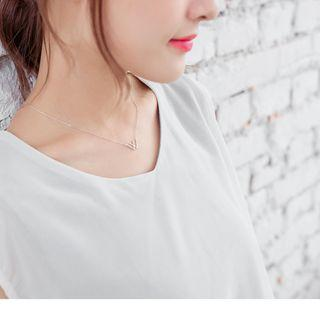 Jewelled W Necklace