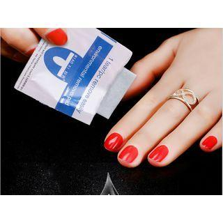 Nail Remover Wipe 200 Pcs - One Size