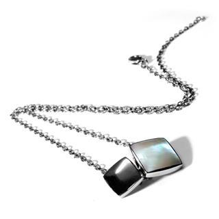 Squared Mop Necklace