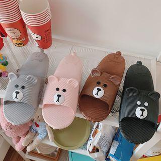 Cartoon Animal Bathroom Slippers