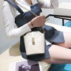 Lace Chain Strap Crossbody Bag