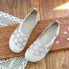 Round-toe Perforated Flats