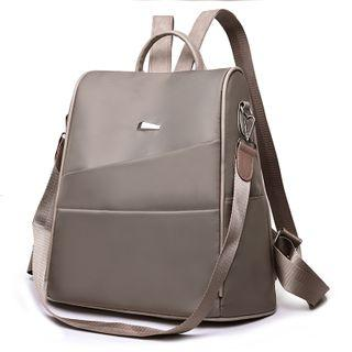 Two-way Paneled Lightweight Backpack