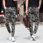 Camouflage Skinny Jogger Pants