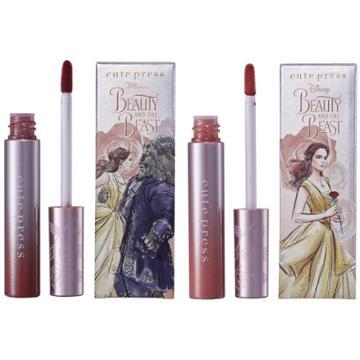 Cute Press - Beauty & The Beast Comfort Matte Liquid Lip 7g - 3 Types