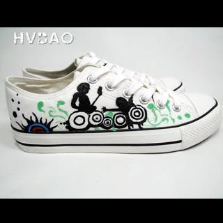 Rocking Out Canvas Sneakers