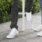 Plain High-top Couple Sneakers