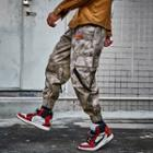 Buckled-accent Cargo Jogger Pants