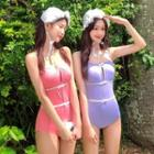 Cutout Bow Swimsuit