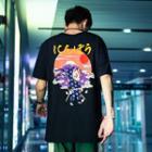 Loose-fit Fuji-print T-shirt