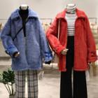 Furry Zip Coat