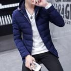 Zipped Padded Hooded Jacket