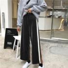 Velvet Wide-leg Pants As Shown In Figure - One Size