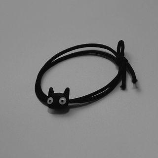 Cat Hair Tie Black - One Size