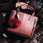 Pompom Handbag