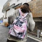 Tie-dye Canvas Backpack
