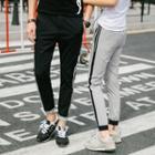 Couple Matching Panel Jogger Pants