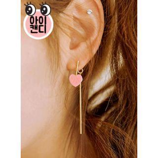 Heart Double-sided Earrings