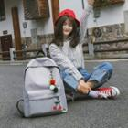 Cherry Applique Backpack