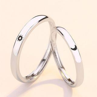 Couple Matching Adjustable Ring