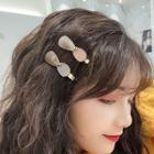 Geometric Printed Hair Clip