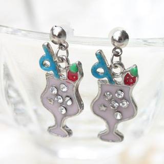 Cool Fruit Juice Earrings