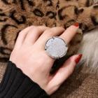 Metallic Ring Silver - One Size
