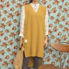 Sleeveless Knit Dress / Shirt