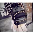 Star Studded Faux-leather Backpack