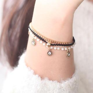 Charm Layered Bracelet