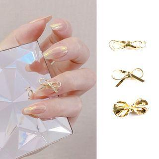 Alloy Bow Nail Art Decoration