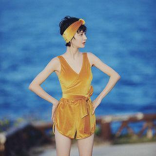 Velvet Swimsuit / Swim Shorts / Set