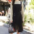 Plain Slit Pinafore