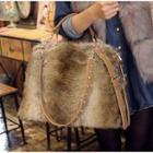 Furry Shoulder Bag