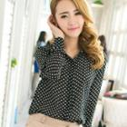 Dotted Blouse