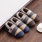 Color Panel Slippers