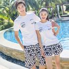Couple Matching Patterned Shorts