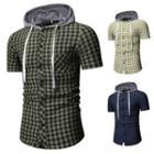 Hood Short-sleeve Shirt