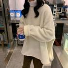 Crewneck Furry Pullover